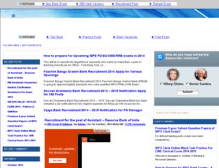 ibpspaper.in screenshot