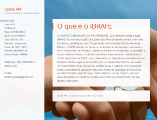 ibrafeam.com.br screenshot