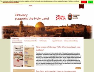 ibreviary.com screenshot