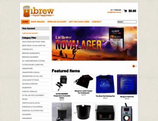 ibrew.com.au screenshot