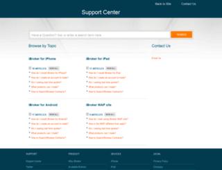 ibroker.desk.com screenshot