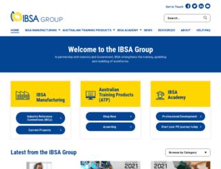 ibsa.org.au screenshot