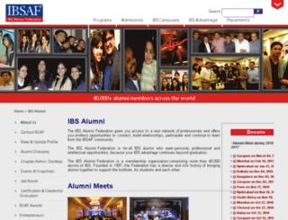 ibsaf.org screenshot