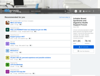 ibsgroup.org screenshot