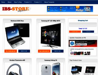 ibsstore.blogspot.com screenshot