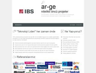 ibsyazilim.com screenshot