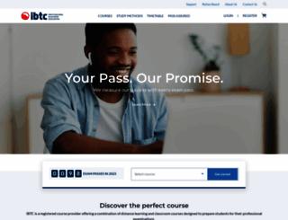 ibtc.co.za screenshot
