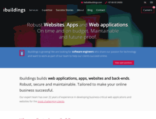 ibuildings.com screenshot