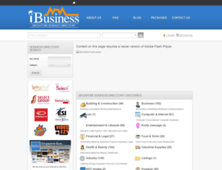 ibusiness.com.sg screenshot