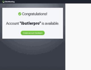 ibutlerpro.clickmeeting.com screenshot
