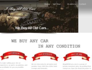 ibuyalloldcars.com screenshot