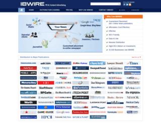 ibwire.com screenshot