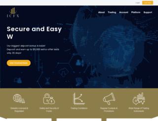 ic-fx.com screenshot