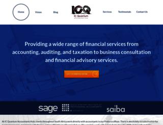 ic-q.co.za screenshot