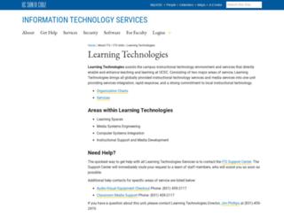 ic.ucsc.edu screenshot