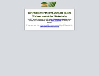 ica-ls.com screenshot