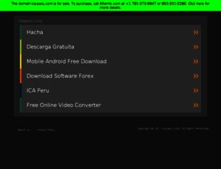 ica-peru.com screenshot