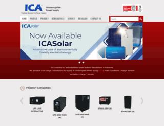 ica.co.id screenshot