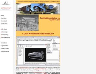 icad2000.de screenshot