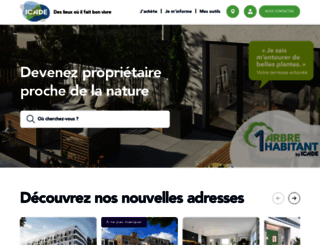 icade-immobilier.com screenshot