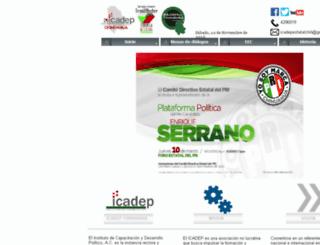icadepchihuahua.org screenshot