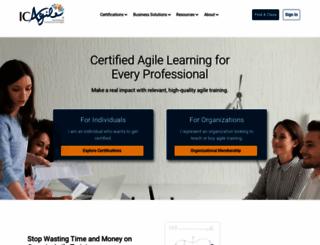 icagile.com screenshot