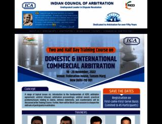 icaindia.co.in screenshot