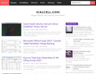 icalcell.com screenshot