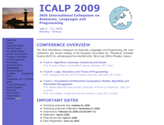 icalp09.cti.gr screenshot