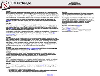 icalx.com screenshot