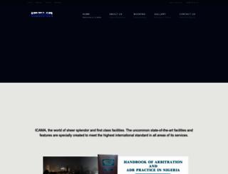 icama.com screenshot