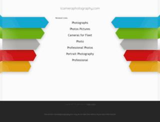 icameraphotography.com screenshot