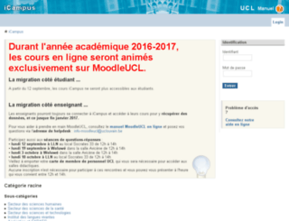 icampus.uclouvain.be screenshot