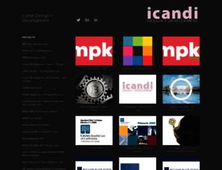 icandi.com screenshot