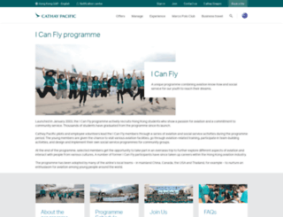 icanfly.cathaypacific.com screenshot