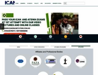 icanig.org screenshot