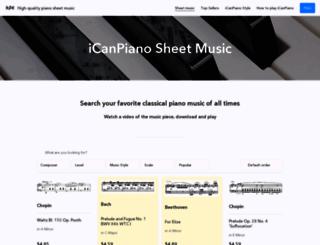 icanpiano.net screenshot