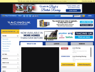 icard.racinguk.com screenshot