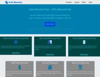 icare-recovery.com screenshot