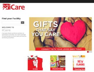 icaregifting.com screenshot