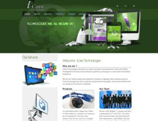 icaretechnologies.co.in screenshot