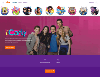 icarly.de screenshot