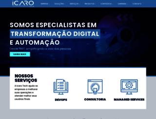icarotech.com screenshot