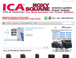 icaroxy.com screenshot