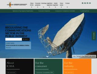 icasa.org.za screenshot