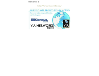 icasevilla.org screenshot