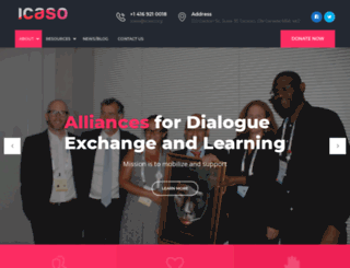 icaso.org screenshot