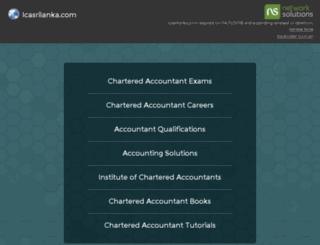 icasrilanka.com screenshot