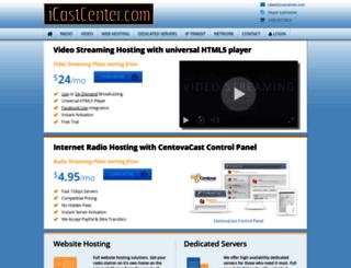 icastcenter.com screenshot