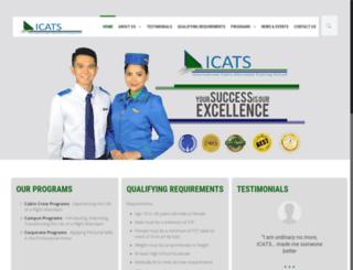 icatsonline.com screenshot